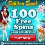 Extraspel Casino 120 Free Spins Bonus to play best Netent games
