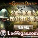 Leo Jackpot 250 Free Spins Bonus – Online & Mobile Casino