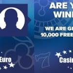 Casino Euro 1,000,000 Free Spins and 150% Welcome bonus