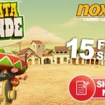 NoxWin Casino 15 free spins on Spinata Grande™ – no deposit bonus