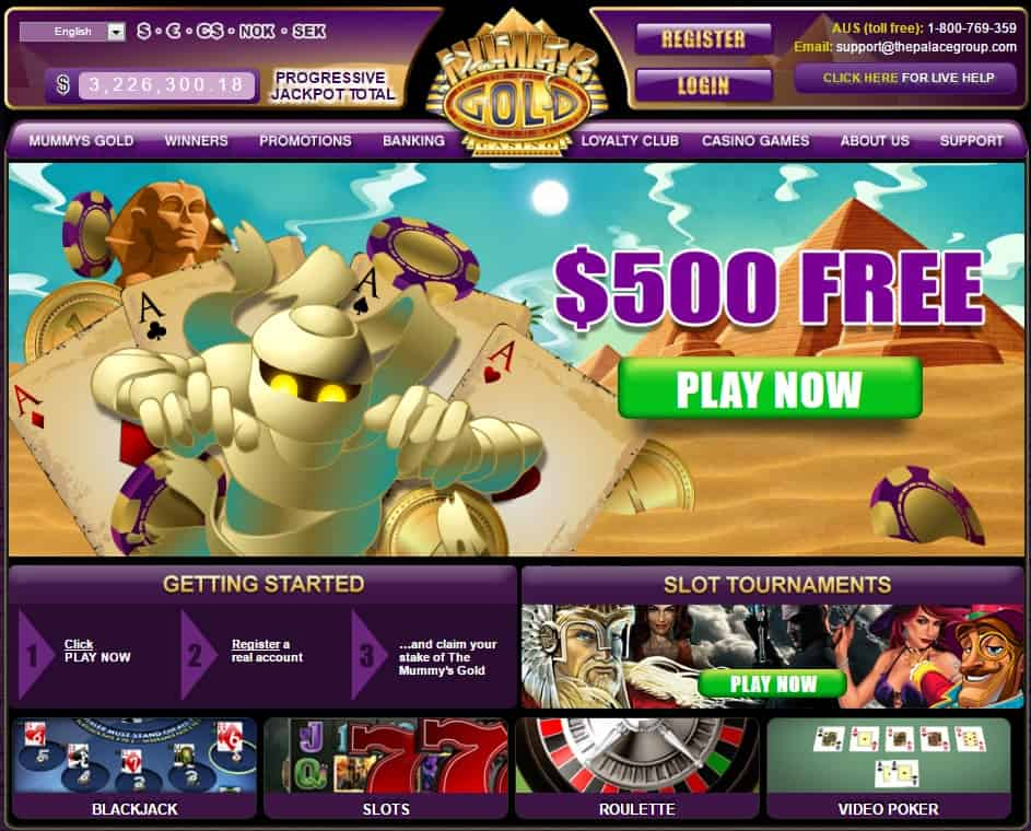 $500 BONUS and 25 free spins