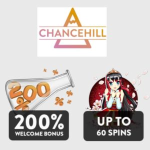 Chance Hill Casino 60 free spins plus €400 welcome bonus