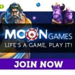 Moon Games Casino 12 free spins and £1500 free bonus
