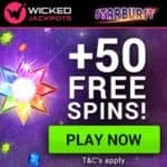 Wicked Jackpots | 150 free spins & £600 casino bonus | review