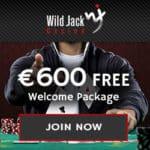 Wild Jack Casino $1600 free spins bonus on progressive slot games