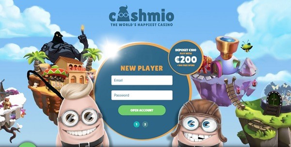 Get 100% bonus and 100 free spins to Online Casino