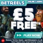 BetReels Casino Review: £5 gratis free spins and 350% instant bonus