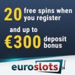 EuroSlots Casino – 100 no deposit free spins   200% welcome bonus