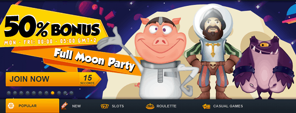 Reload Bonuses and Free Spins