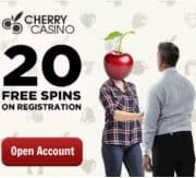 Cherry Casino free bonus