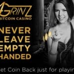 4Grinz Casino – 100 free spins and 100% bitcoin bonus