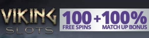 Viking Slots Casino 100 gratis spins and 100% up to €200 welcome bonus plus €10 no deposit