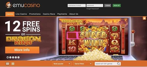 12 free spins no deposit casino bonus
