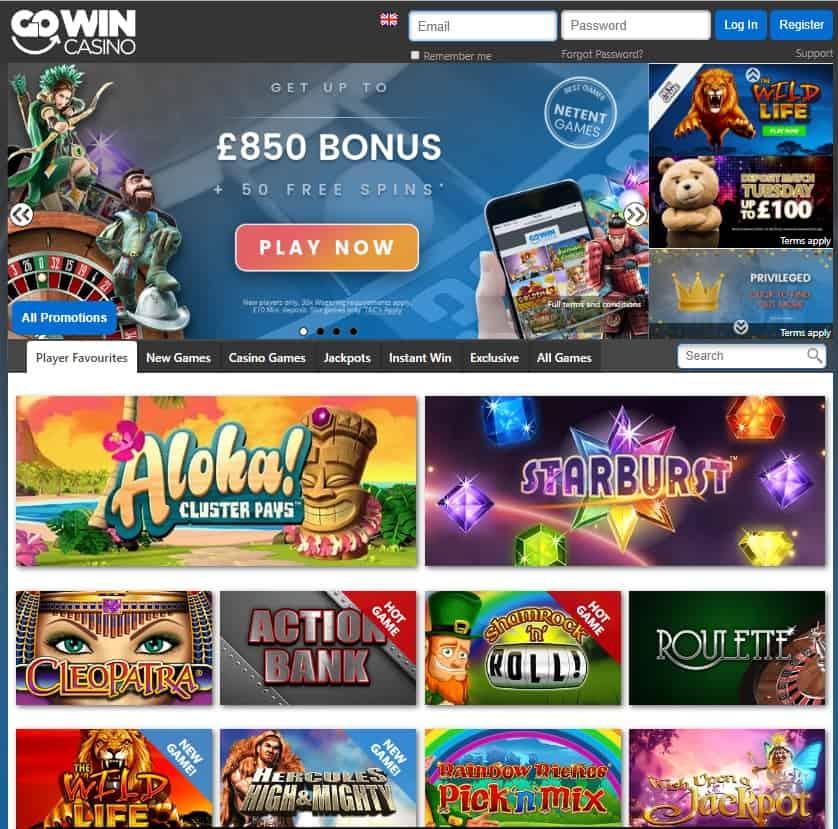 Gowin Casino Free Bonus