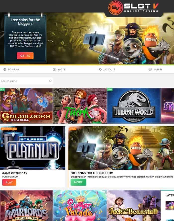 Slot V Casino free bonus