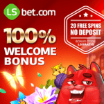 LSbet Casino | $300 bonus and 20 free spins code without deposit!