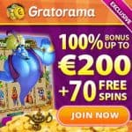 Gratorama Casino – 7€ free bonus no deposit required – fun time!