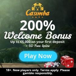 How to get 125 bonus spins and 6,500€ free to Casimba.com?