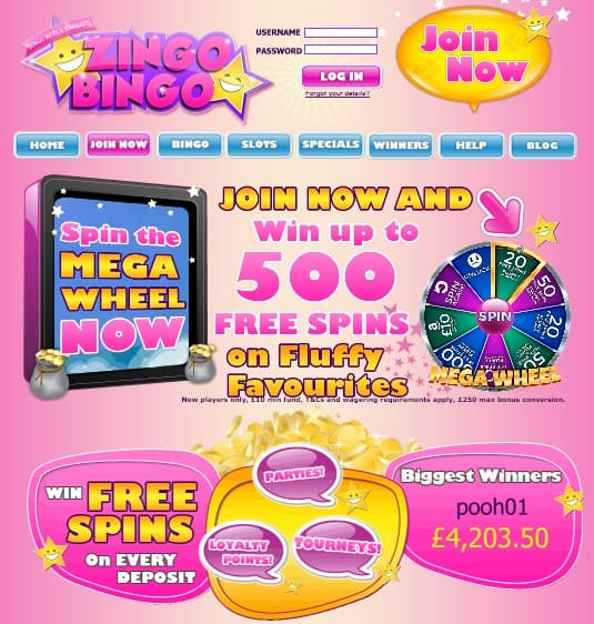 Zingo Bingo Casino Review