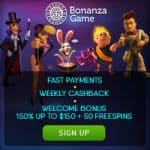 Bonanza Game Casino Review | 750 USD free bonus   100 gratis spins
