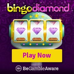 Bingo Diamond Casino 100 free spins on Karaoke Party + 300% bonus!
