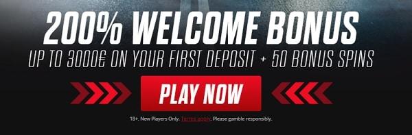 Get 200% bonus up to 3,000 EUR!