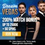 How to get 120 free spins & €7000 bonus to Dream Vegas Casino?