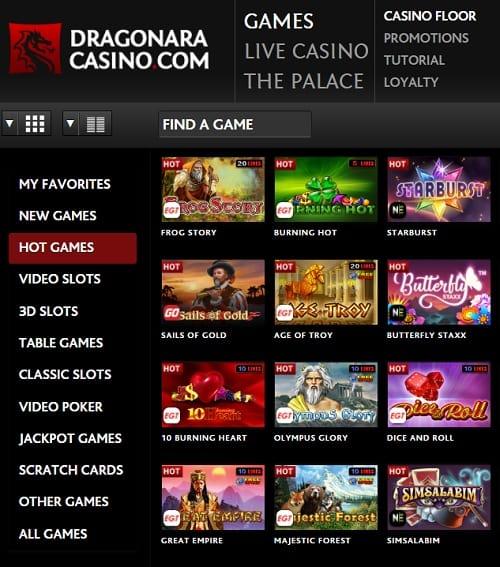 Dragonara Casino Online Review