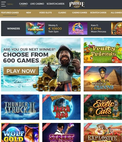 Pirate Spin Casino Online and Mobile