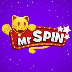 Mr Spin Casino - 50 free spins & £100 free bonus for UK mobile players