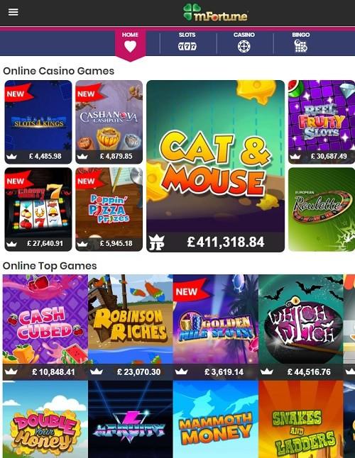 m Fortune Casino free bonus