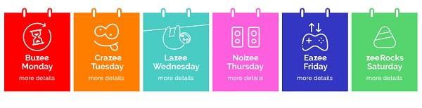 Playzee Casino daily bonuses