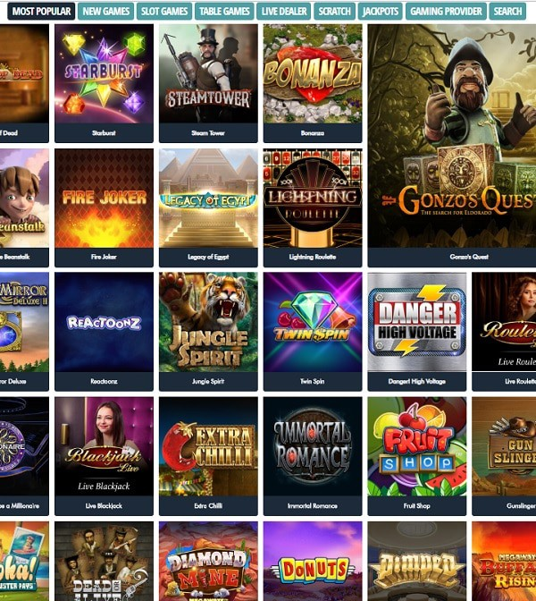 Jonny Jackpot Casino Online & Mobile
