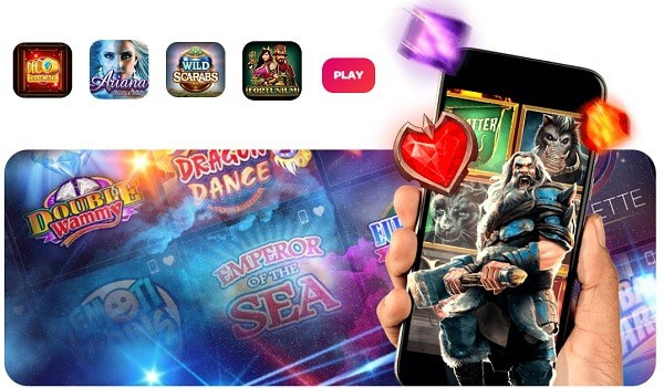 Spin Casino Mobile Games free spins welcome bonus