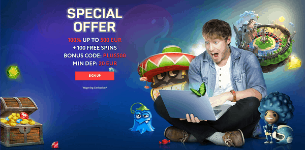 100 Free Spins For New Players