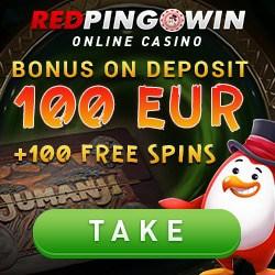 Red Pingwin (redping.win) 100 free spins & 100 EUR bonus