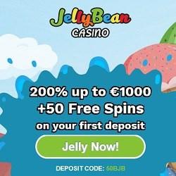 JellyBean.com Casino €1000 welcome bonus & 50 free spins