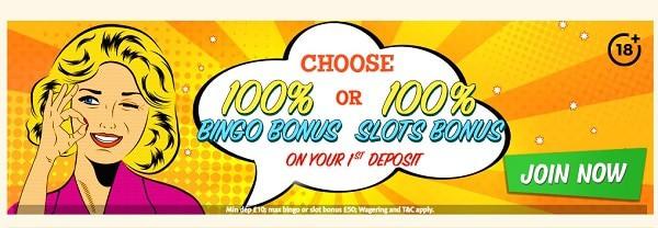 Bingo Extra Casino free bonus