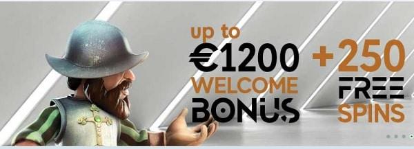 GoPro Casino Welcome Bonus