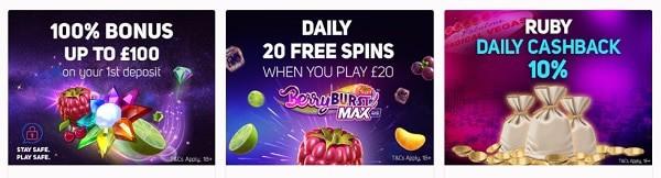 20 Free Spins Gratis
