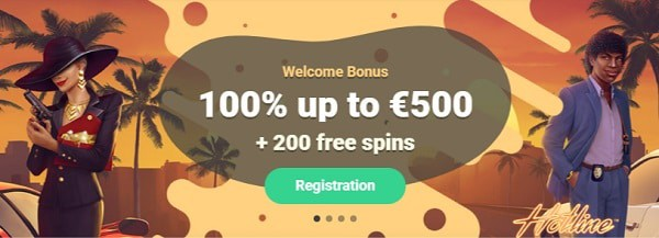 Yoyo Casino 100% bonus and 200 free spins