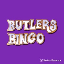 Butlers Bingo Casino £100 bonus cash & 50 free spins on sign up