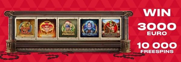 Free Spins Bonus at FavBet Casino