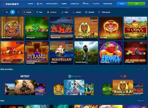 FavBet Casino Reviews