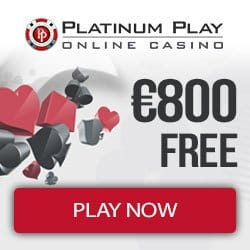 Platinum Play Casino [register & login] €800 free spins bonus