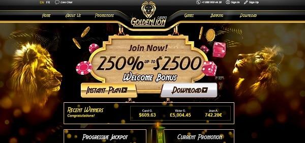 $2500 Welcome Bonus (250% extra)