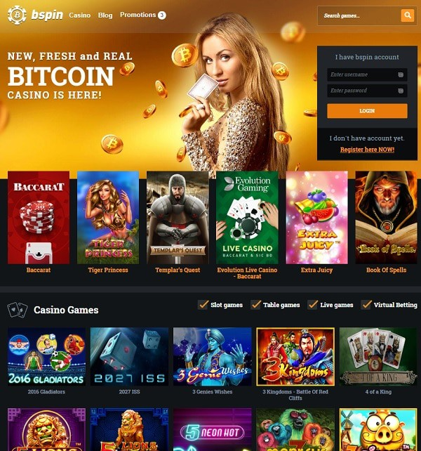 Bspin Online Casino Review