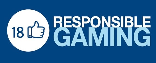 Play Responsibly! Be Gamgle Aware! +18 Only!