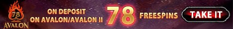 78 freespins no deposit