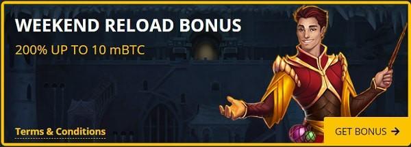 200% reload offer